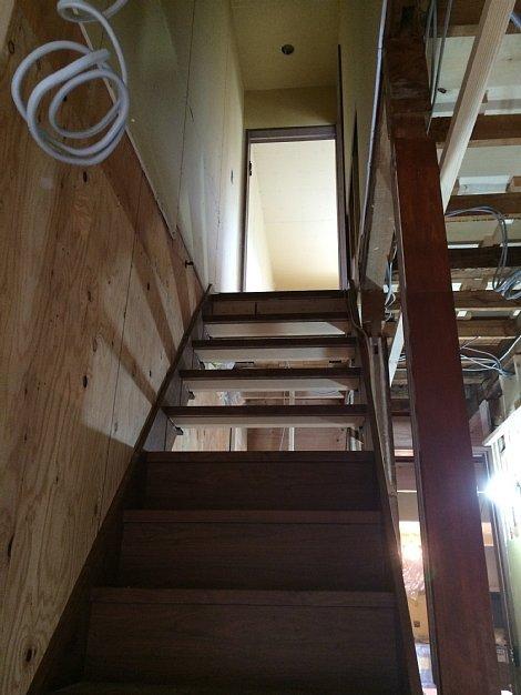 階段架け替え工事